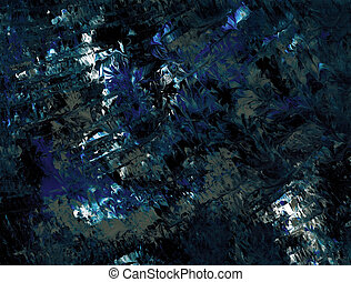 Bold Blue Gray - Abstract texture in blue and gray