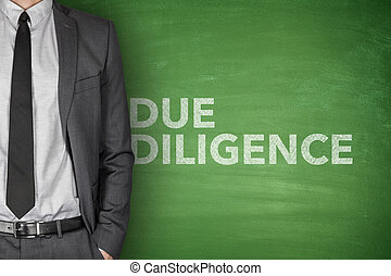 Due diligence on blackboard - Due diligence on black...