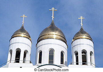 Russian cathedral - High resolution image. Russian cathedral...