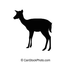 goat vector silhouette