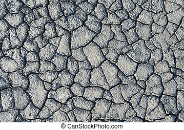 texture  dried mud closeup - texture of dried mud closeup