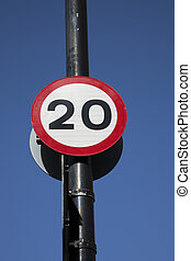 Twenty Speed Sign