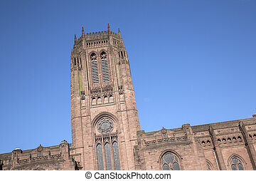 Anglican Cathedral, Liverpool, England, UK
