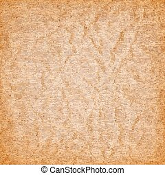 brown canvas with the texture of crumpled paper. grunge background. Vector