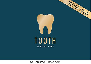 Tooth Icon vector logo template Health, medical or doctor...