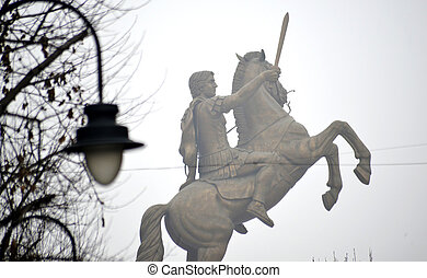 Monuments in skopje, macedonia - Picture of a Monuments in...