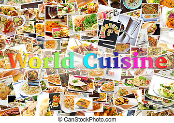 World Cuisine Collage