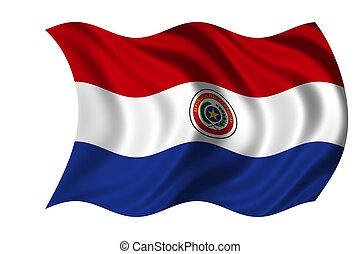 National Flag Paraguay