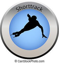 winter game button shorttrack