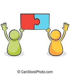 Puzzle Piece Problem Solution