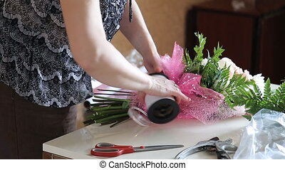 make bouquet