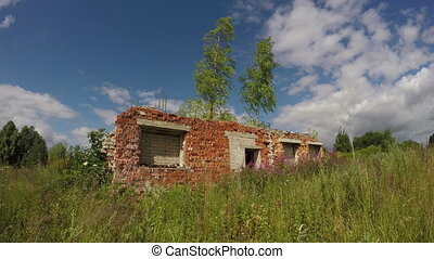 kolkhoz collective farm  ruins
