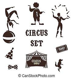 circus - Background of the poster of circus in design...