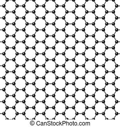 Graphene icon - Vector graphene flat icon. Science...