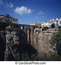 Ronda - Town Ronda build on cliff