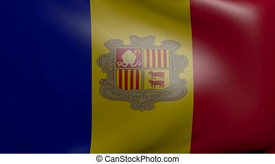 andorra strong wind flag