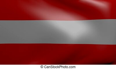 austria strong wind flag