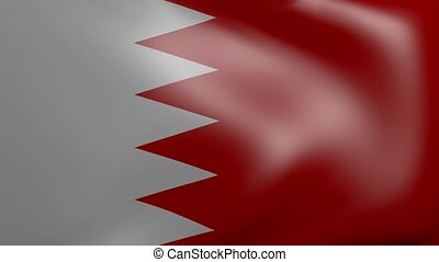 bahrain strong wind flag