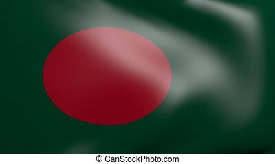 bangladesh strong wind flag