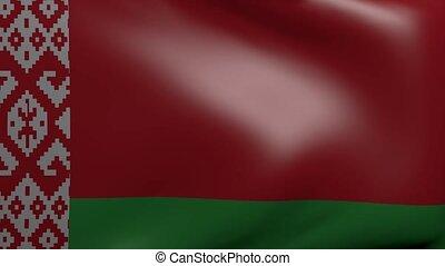 belarus strong wind flag