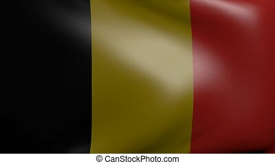 belgium strong wind flag