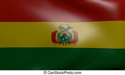 bolivia strong wind flag