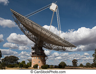 Radio Telescope - A Radio Telescope, near Parkes, in New...