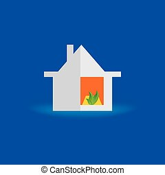 housewarming concept vector illustration