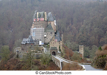 Medieval Castle - Burg Eltz in Germany