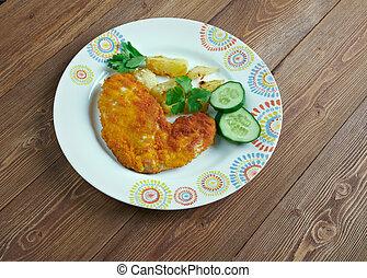 Milanesa de Pollo spanish escalop breaded chicken fillets
