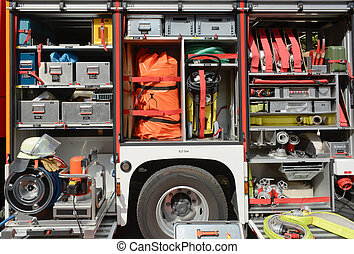 Fire Truck Equipment -  Fire Department Truck and Equipment