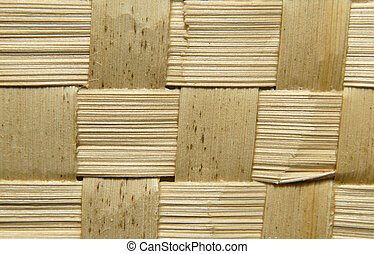 wicker wooden background