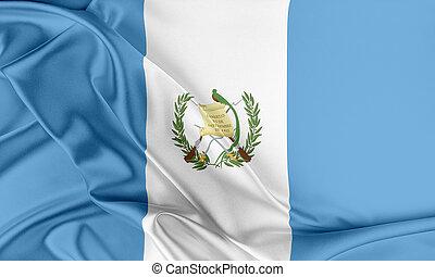 guatemala, Flag., ,