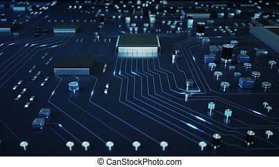 Motherboard Technology - Data traveling in between...