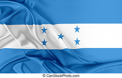 honduras, Flag., ,