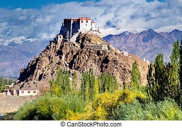 Stakna monastery, Ladakh, Jammu and Kashmir, India - Stakna...