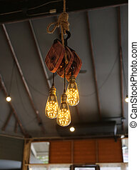 Modern Ceiling Lighting in a restaurant