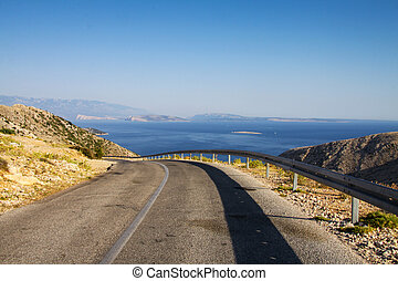 Island of Krk Croatia, Europe - Island of krk on the north...