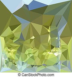 Limerick Green Abstract Low Polygon Background - Low polygon...