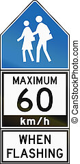 Maximum 60 Kmh When Flashing - Old Version in Canada -...