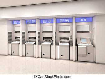 Automated teller イラストとクリップアート(594)