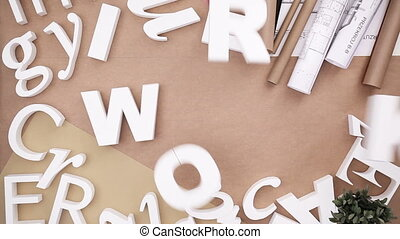 Building word from letters