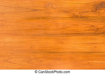 teak wood furniture surface - close up background and...
