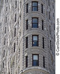 Flatiron Building - Abstract detail of Flatiron Building...