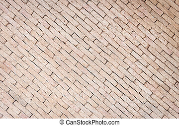 Pattern of red brick wall texture for background - Pattern...