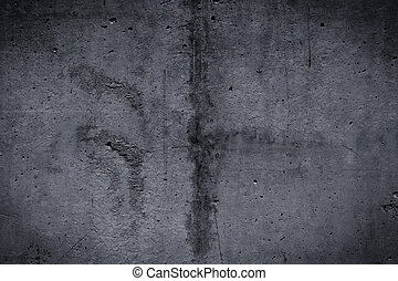 Grungy smooth concrete texture - Grungy and smooth bare...