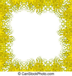 Cassia fistula flower seamless pattern background - Cassia...