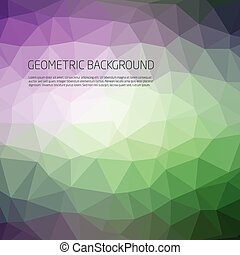 Abstract Multicolor Background Vector Pattern