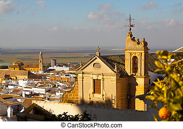 General view of andalucian town. Osuna - General view of...