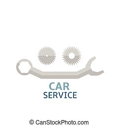 car service - Car service icon logo for company. Vector...